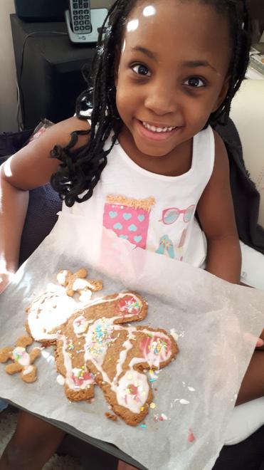 Ella A's Gingerbread Man