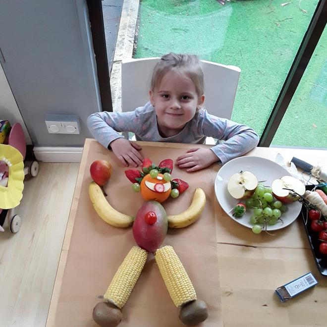 Jagoda's fruit and vegetable person