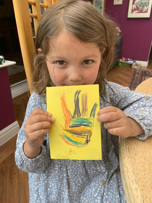 Ella O's Ugly duckling card 2