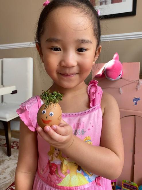 Chloe's Egg girl cress head