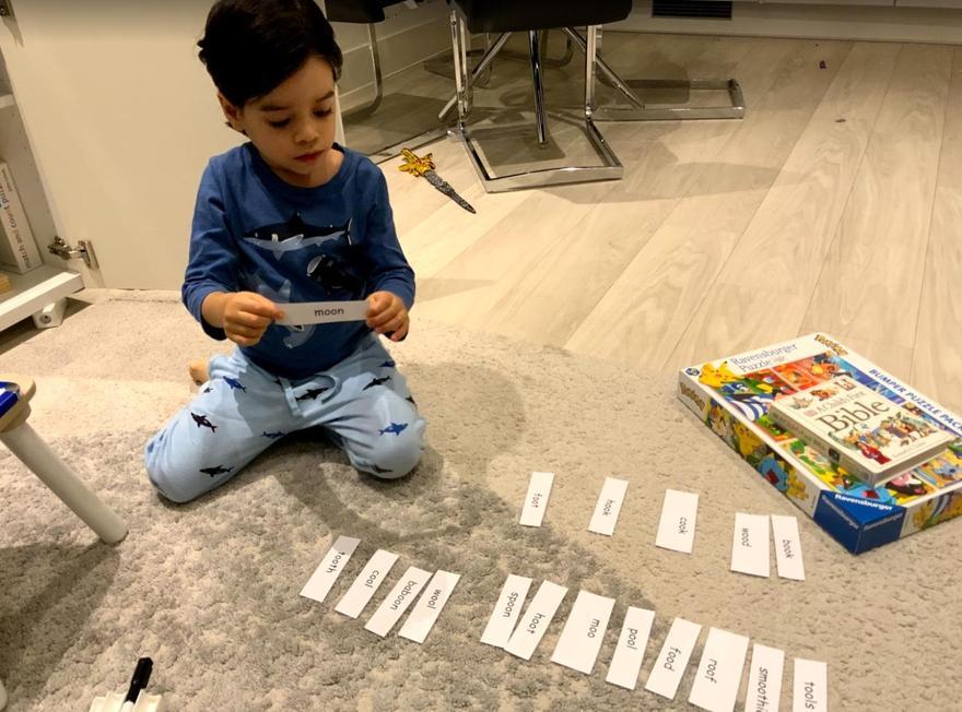 Thomas' phonics game