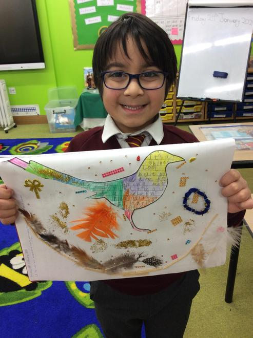 Rayyan's Magpie poem