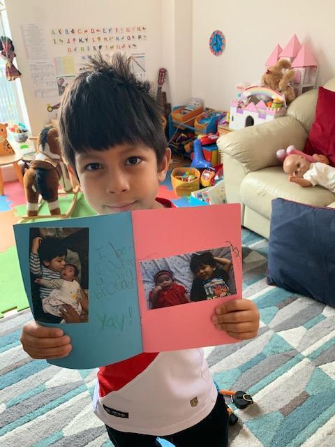 Mateo B's growing up scrap book