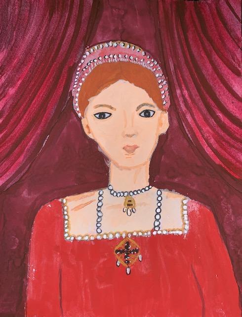 Lara Tudor portrait Elizabeth I
