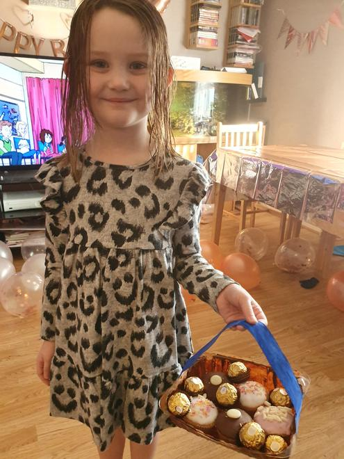 Grace's LRRH basket for Grandma