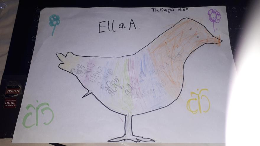 Ella A's Magpie Poem