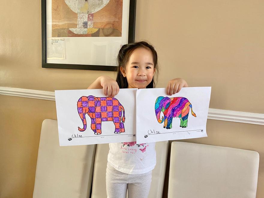 Chloe's Elmer patterns