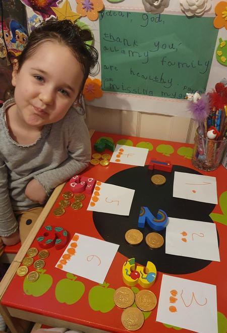 Goda explores numbers1 to 6