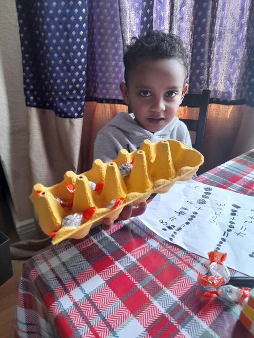 Jonathan's egg box maths