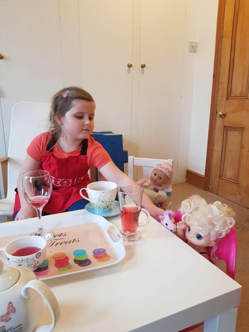 Julia's capacity tea party