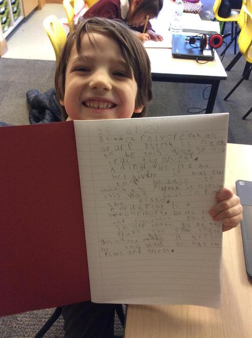 Hugo's fantastic topic work