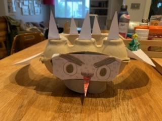 Hugo's spiketacular dragon