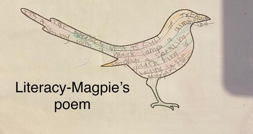 Theo's Magpie poem