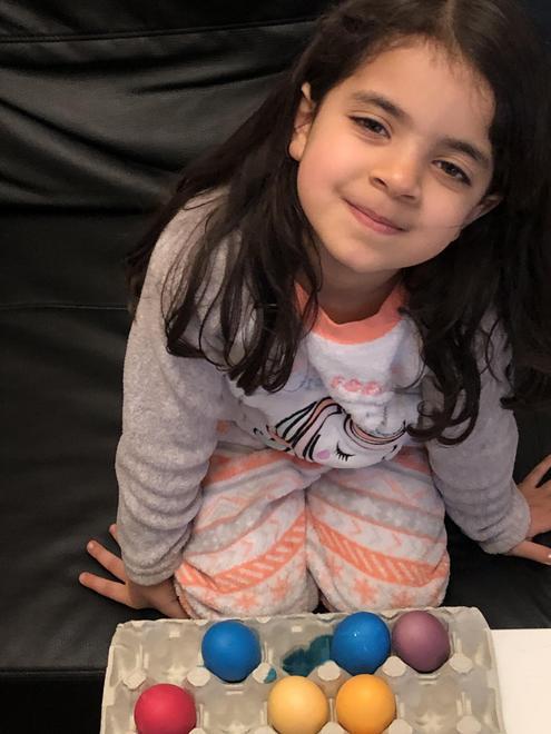 Rebecca's Easter eggs