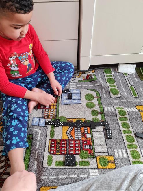 Gabriel's domino game