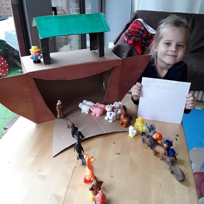 Jagoda's Ark and pairs of animals