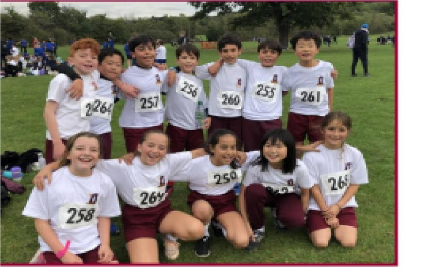 Year 5 cross country Team