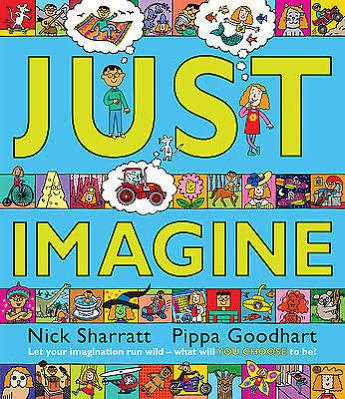 Just imagine what it would be like to be as small as a mouse; or as big as a house. Imagine exploring the depths of the ocean, travelling into the past or the future - or something even stranger...This wonderfully inventive and interactive book allows a child to tell their own story, combining new elements each time. And with intricately detailed illustrations for parent and child to pore over together, this really is a book to share time and time again.
