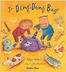 There are so many noises all around us, so why not see how many you can catch and put in a bag? Make yourself a ding-dong bag just like the one in this story. And when it's full to bursting, open it up and let them all out again.