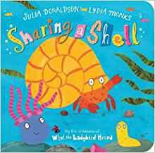 Hermit crab is looking for a home and finds one in an empty shell. Blob and Brush join him and the friends enjoy a happy life until they all grow bigger and need more room! A beautiful story for sharing and touching to seek out the sparkles.
