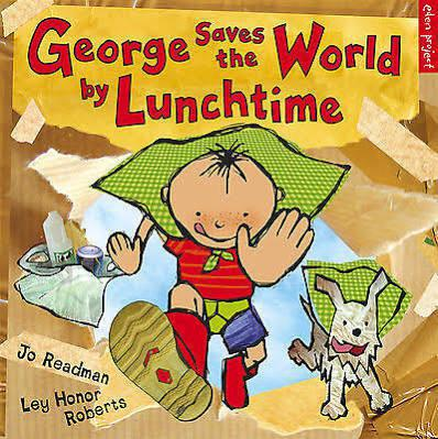 George is determined to save the world by lunchtime, but he's not quite sure how. Grandpa suggests they start by recycling the yoghurt pot from his breakfast, putting his banana peel in the compost pile, and hanging the washing to dry in the sun. A bike trip to the recycling bank, charity shop and local farmers' market show how recycling and re-using materials, and using less petrol and local produce can really help save the world. George even gets a favourite toy fixed!