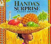 Handa decides to take seven pieces of delicious fruit to her friend, Akeyo, who lives in the neighbouring village. But as Akeyo wonders, I wonder what fruit Akeyo will like best?, a series of sneaky animals steal something from Handa's basket, which she's carrying on her head... When Handa reaches Akeyo, will she have anything left to offer her friend?