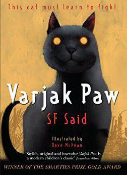 Varjak Paw is a Mesopotamian Blue kitten. He lives high up in an old house on a hill. He's never left home, but then his grandfather tells him about the Way - a secret martial art for cats.  Now Varjak must use the Way to survive in a city full of dangerous dogs, cat gangs and, strangest of all the mysterious Vanishings.