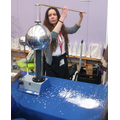 Science - generating static electricity