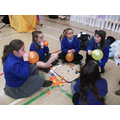 Making 'stress' balls from balloons and sand
