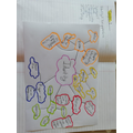 Lewis super colour coded mindmap of his I.D