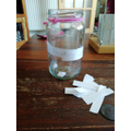 Lewis's lovely thinking jar