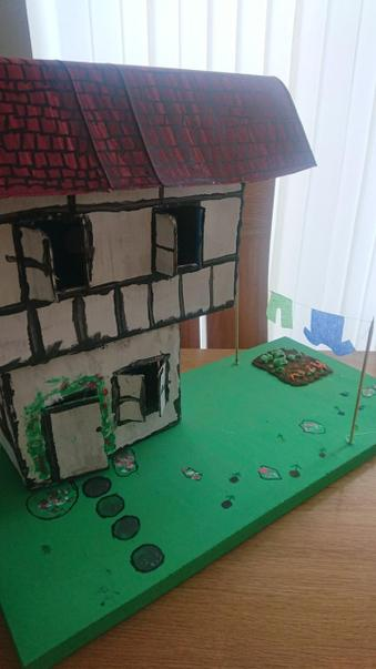 Amazing Tudor house created by Emily