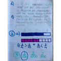 Safeya's Maths work: Compare & ordering fractions