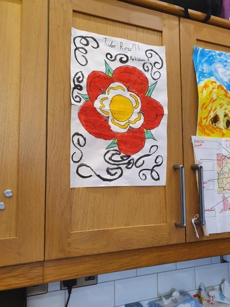 Tudor Rose created by William