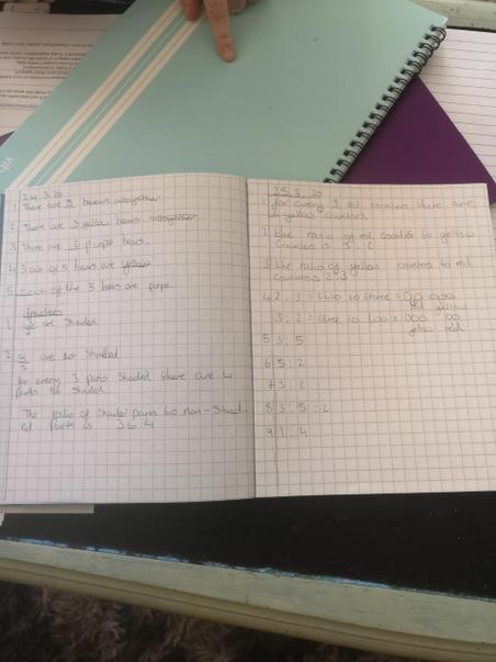 Great maths work Emily