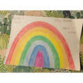 A beautiful rainbow by Elsa.