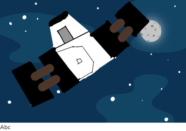 Kabir's Dragon spaceship
