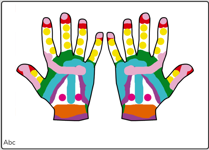 Haaniyah mehndi hands