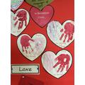 Love - Hall display