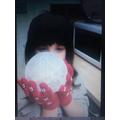 My ice balloon experiment!