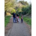 A family walk!