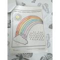 A lovely colourful rainbow Amelia.