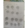 Then she used different coins to make 53p!