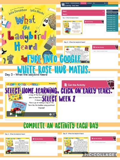 There are 5 activities to complete. 1 each day.