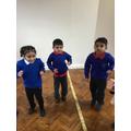 The children enjoyed dancing to 'Baby Shark'
