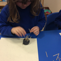 making our porcupine