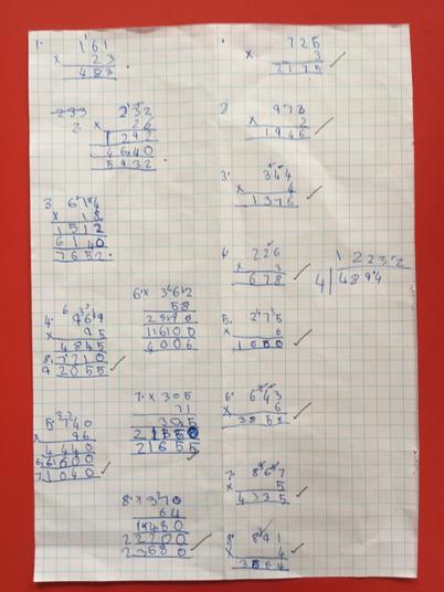 Mariyam's maths.