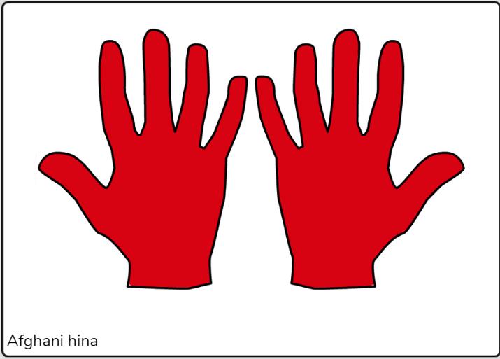 Mojeeb mehndi hands