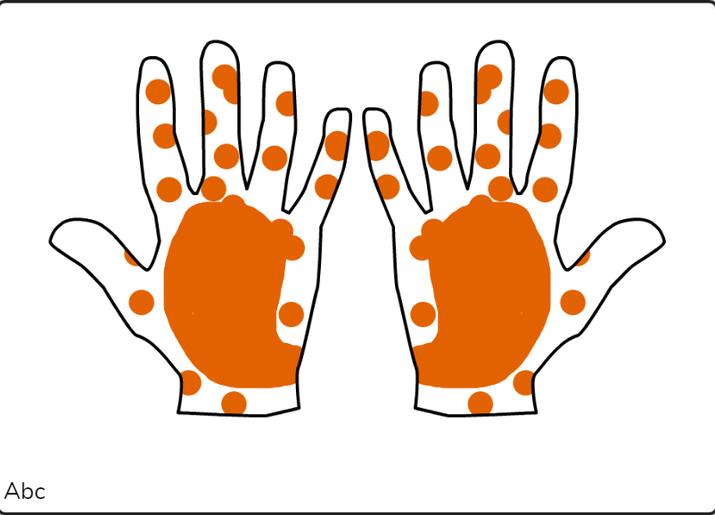 Ayaan mehndi hands