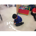 ordering numbers and words to 10